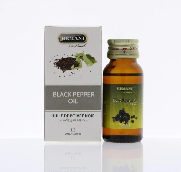 Hemani Black Pepper Oil 30 ml