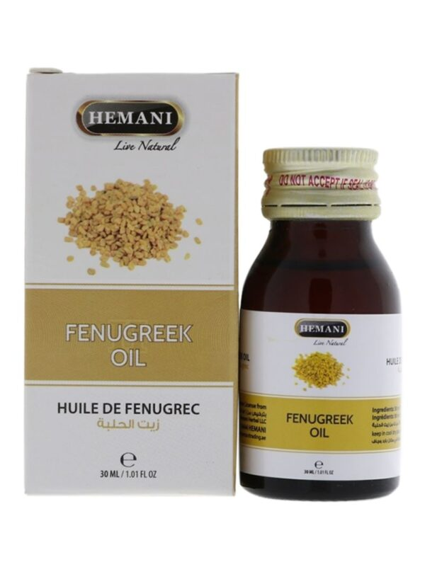 Hemani Fenugreek oil - huile de fenugrec 30 ml