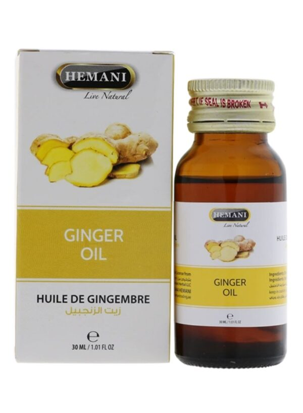 Hemani Ginger oil - Huile de gingembre 30 ml