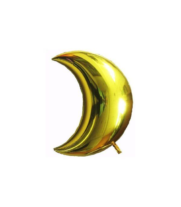 Ballon Maan Goud - Groot