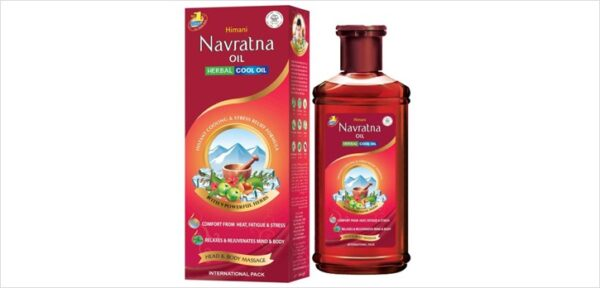 Himani Navratna Herbal Oil Head Body Stress massage
