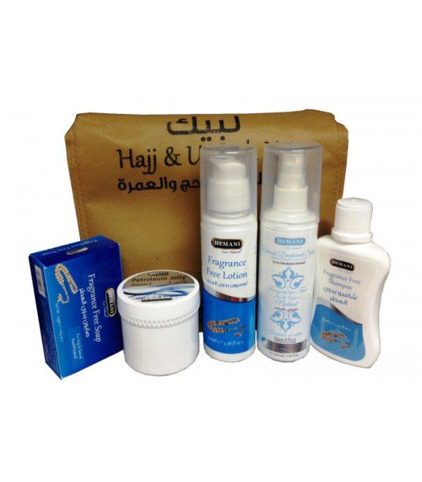 Parfumvrije Hadj & Umrah Kit set