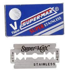 Super max stainless blades messen