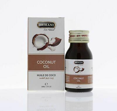 Hemani Coconut oil - Huile de coco 30 ml