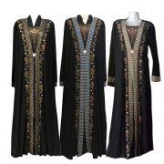 Mode-Arabische-Moslim-Abaya-Jurk-Islamitische-Kleding-voor-Vrouwen-Dubai-Kaftan-Abaya-Dress-Turkse-Moslim-Jurken